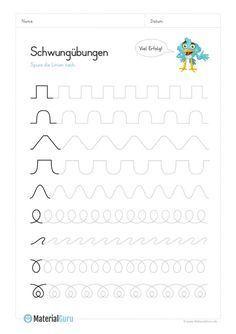 schwung bungen f r kinder zum ausdrucken lernen schwung bungen vorschule schwung bungen und. Black Bedroom Furniture Sets. Home Design Ideas