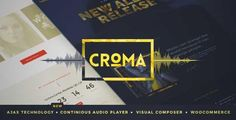 Download and review of Croma - Responsive Music WordPress Theme with Ajax and Continuous Playback, one of the best Themeforest Entertainment themes {Download & review at|Review and download at} {|-> }http://best-wordpress-theme.net/croma-responsive-music-ajax-continuous-playback-download-review/