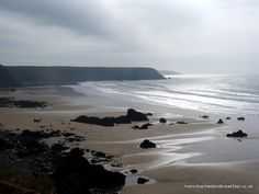 Marloes Sands, Pembrokeshire Wales via Flickr.  www.manorbierbedandbreakfast.co.uk