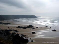 Marloes Sands, Pembrokeshire Wales via Flickr.  www.manorbierbedandbreakfast.co.uk