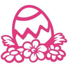 Silhouette Design Store: easter egg garden