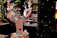 Kit de decoración - Animal Fantasy por Georges et Rosalie Fantasy, Animals, Art, Staging, The Creation, Create, Blue Prints, Christmas 2015, Doe Deere