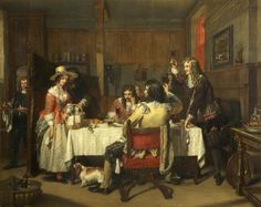 Nell Gwynn at the Tavern c.1840 by Charles Landseer (British 1799-1879)