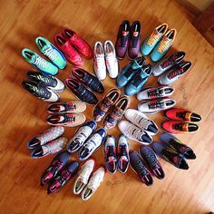 Keep calm and collect shoes...