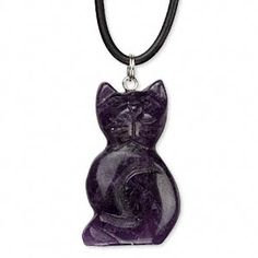 CyberMoon Emporium WitchCraft Supplies and WitchCraft Store, Wicca Supplies and Wicca Store, Witch Supplies, Witch Store,  Pagan Supplies, Pagan Store, Occult Supplies, Pagan Jewelry, Celtic Jewelry - Amethyst Goddess Pendant Necklace