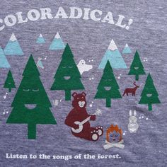 Coloradical Songs of the Forest T-Shirt