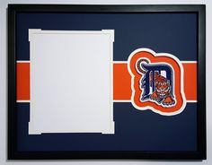 Detroit Tigers 14x18 mat for 8x10 photo. Miguel Cabrera Justin Verlander Upton
