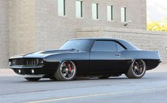 Souped-Up BMW | 1969 black camaro maro Chevrolet chevy clean draco rides souped-up