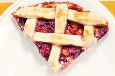Raspberry Pear Pie - Perfect for a holiday celebration like New Year's Eve!