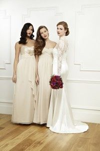 Wedding dresses for brides and bridesmaids