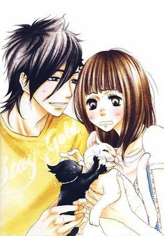 Say I Love You (Yamato Kurosawa, Mei Tachibana) Manga Anime, Anime Amor, Me Me Me Anime, Anime Love, Yamato And Mei, Yamato Kurosawa, Vocaloid, Say I Love You, My Love