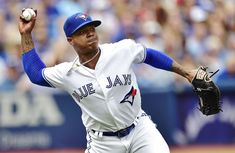 Jays starter Marcus Stroman chips in defensively in the second inning of Saturday's win over the Orioles. Marcus Stroman, Rogers Centre, Toronto Blue Jays, World Series, Two By Two, Chips, Baseball, Game, Heart