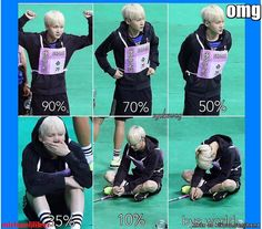 suga battery percentage? XD | allkpop Meme Center