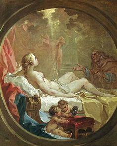 Danae by François Boucher (1703-1770)