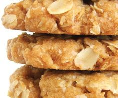 ANZAC cookies- a traditional Australian treat for War Memorial (ANZAC) day.