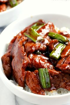 Mongolian Beef no marinating time Vegetable oil 1 tsp. Easy Mongolian Beef, Mongolian Beef Recipes, How To Cook Beef, Healthy Dinner Recipes, Yummy Recipes, Entree Recipes, Copycat Recipes, Beef Dishes
