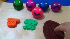Learn Colors with Play Doh Surprise Eggs Inside Out Minions Frozen My Li...