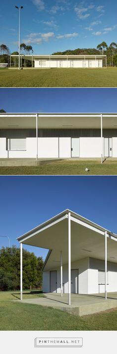 OCEAN SHORES SPORTS FACILITY - Dominic Finlay Jones Architects http://www.dominicfinlayjones.com.au/OCEAN-SHORES-SPORTS-FACILITY - created via https://pinthemall.net