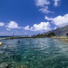 Piscina de #lamaceta en #ElHierro - #IslasCanarias
