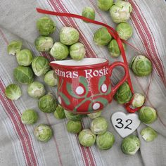 32 Days till Christmas. Who's having brussel sprouts this Christmas.