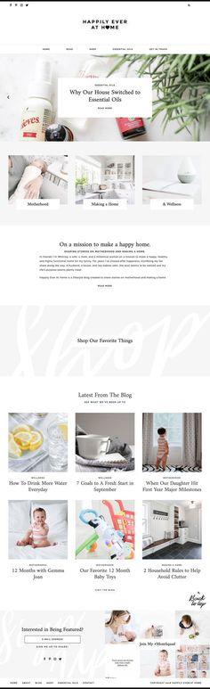 Shop — Station Seven: Squarespace Templates, WordPress Themes, and Free Resources for Creative Entrepreneurs Portfolio Website Design, Website Design Layout, Joomla Templates, Wordpress Template, Minimal Web Design, Graphic Design, Site Vitrine, Website Design Inspiration, Brand Inspiration