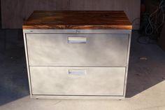 Refinished Metal Filing Cabinet 30 36 Or 42 Etsy Filing Cabinet Cabinet Makeover Diy Metal Filing Cabinet