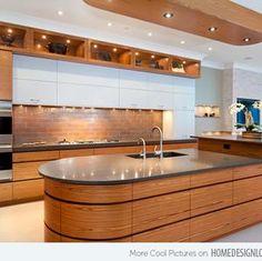 Island inspiration on pinterest contemporary kitchen island kitchen islands and functional - Functional kitchen island with sink ...