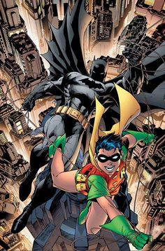#Batman #And #Robin #Fan #Art. ( Batman and Robin ) By: Jim Lee. (THE * 5 * STÅR * ÅWARD * OF: * AW YEAH, IT'S MAJOR ÅWESOMENESS!!!™) ÅÅÅ+