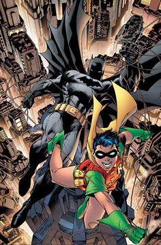 #Batman #And #Robin #Fan #Art. ( Batman and Robin ) By: Jim Lee. (THE * 5 * STÅR * ÅWARD * OF: * AW YEAH, IT'S MAJOR ÅWESOMENESS!!!™) ÅÅÅ+