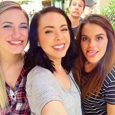 From @nikkiphillippi - Filming for @thegangmagazine with these goobers/beauties! @carrierad @maddymcq @dan_phillippi
