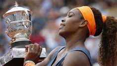 Serena Williams earns first French Open win since 2002 (Photo: Getty Images) #Tennis