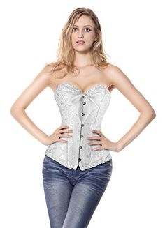 Charmian Women's Burlesque Brocade Wedding Bridal Dance Bustier Corset Lingerie at Amazon Women's Clothing store:  https://www.amazon.com/gp/product/B00KRELT2W/ref=as_li_qf_sp_asin_il_tl?ie=UTF8&tag=rockaclothsto_gothic-20&camp=1789&creative=9325&linkCode=as2&creativeASIN=B00KRELT2W&linkId=9a40138f397df242406e6f2201f9f41a