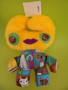 dodô,delfina reis, toy art Dodô & Dadá Toy Art #toyart #softies #soft sculpture #artdolls #toys #dodos&dadas #dodos #dada #softsculpture
