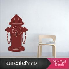Check out this item in my Etsy shop https://www.etsy.com/ca/listing/260274674/fire-hydrant-wall-decal-choose-any-color