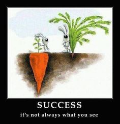 Not always what you see…