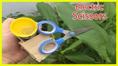 How To Make Electric Scissors - Life Hack With Scissors - Cutting machine