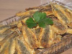 Жареная мелкая рыба (сардины, килька, мойва) - YouTube