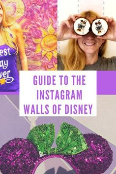 Guide to the Instagram Walls of Disney - Magic Kingdom, Hollywood Studios, Epcot and Animal Kingdom hidden photo spots