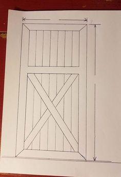 how to build a 1x6 t g pine door for a sliding door