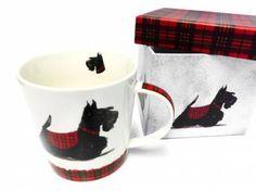 Tiermotiv TassenHunde Motiv Tasse: Scottie - Scottish Terrier, Tasse mit Box