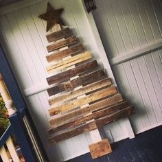 7' Pallet Christmas Tree by PalletLifeAustralia on Etsy