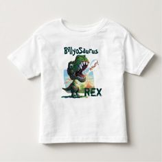 Little T Rex Painted Toddler T-shirt - tap to personalize and get yours