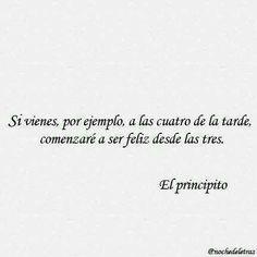 #elprincipito #frase # español