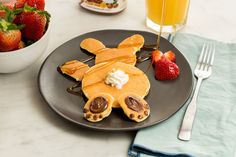 These Peter Cottontail Pancakes Will Make Grown Men Squeal
