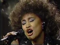 Phyllis Hyman: 'What You Won't Do For Love' - great live performance from David Letterman's show. Studio version from the LP 'Living All Alone' (1986).