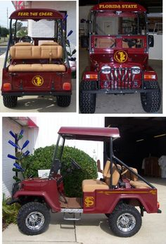 One day i will buy my daddy this Golf Cart of his old school