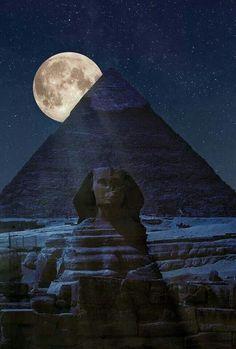 Night Sky at the Pyramids