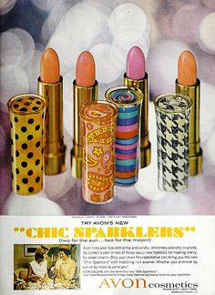 "Avon ""Chic Sparklers"" Lipsticks, April 1966"