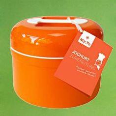 Yoghurtmaker MyYo ook als Kefirmaker zonder stroom oranje