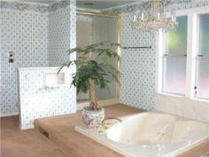 floor set tub
